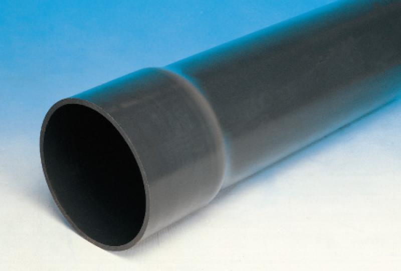 Ege Yıldız PVC-U Yapıştırma Muflu Temiz Su Borusu